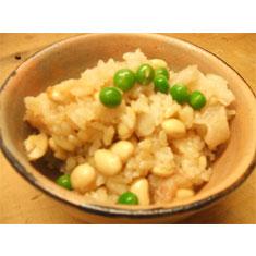 料亭 即今風 大豆と貝柱のご飯