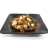 大豆と挽肉のそぼろ煮