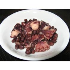 ホクホク!小豆とタコの桜煮